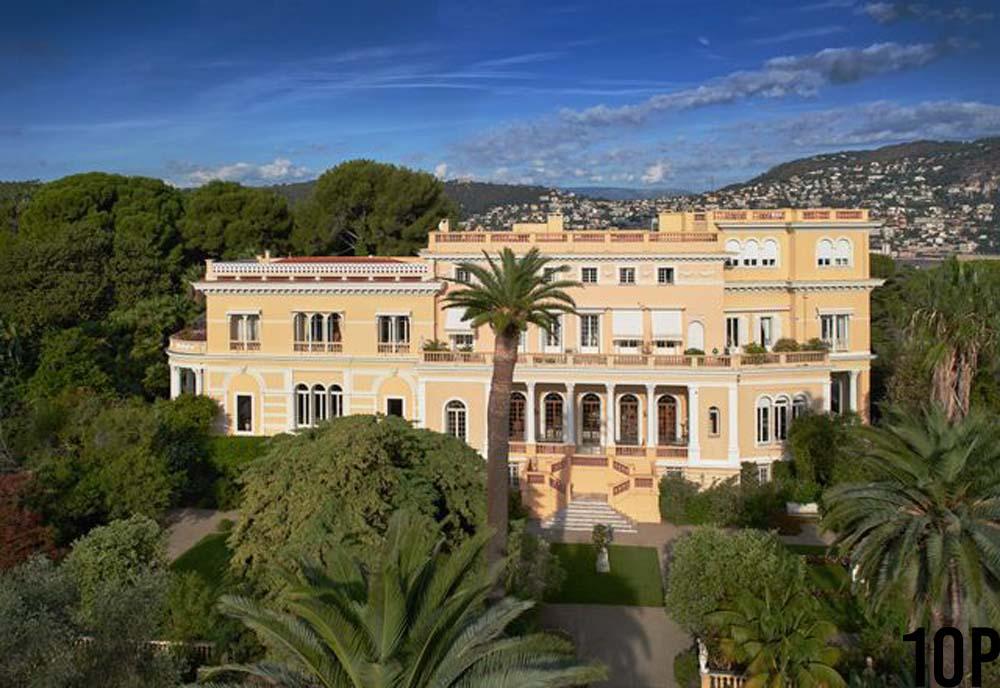 Villa Les Cedres - top10counts