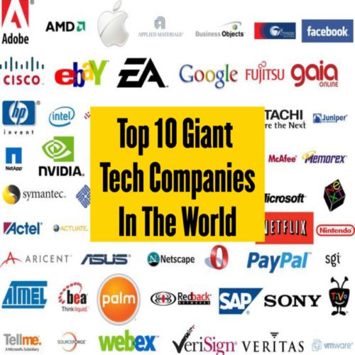 giant tech companies