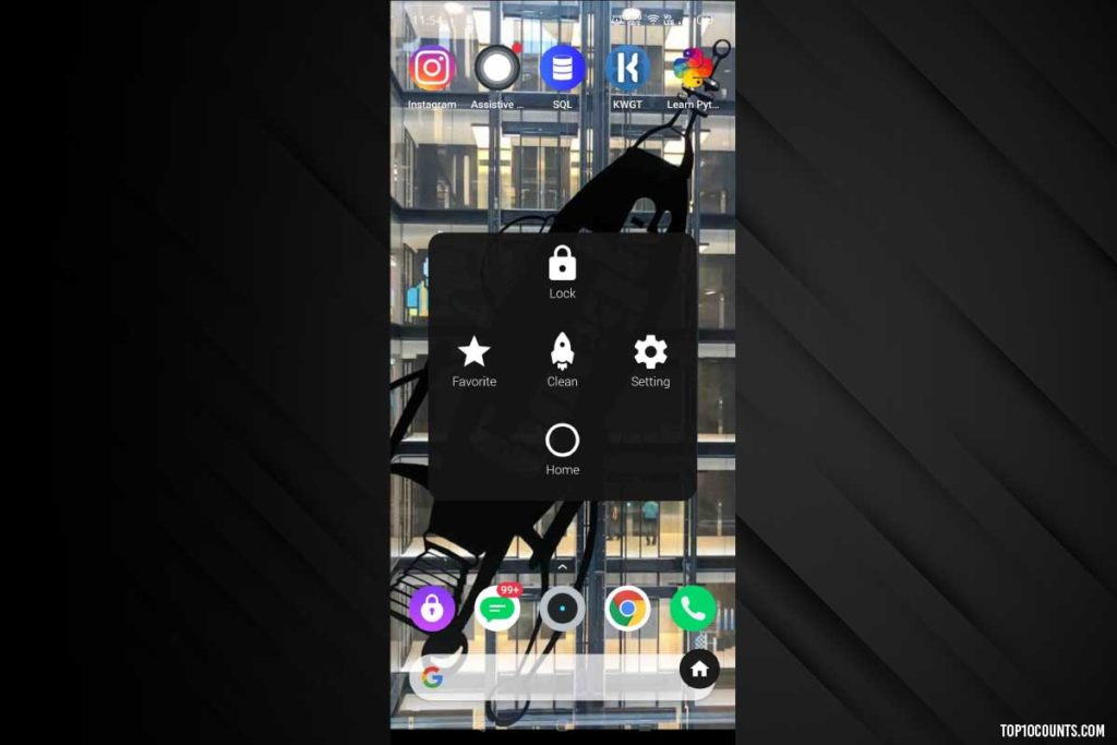assistive touch - Mobile Customizing Apps For Android - top10counts