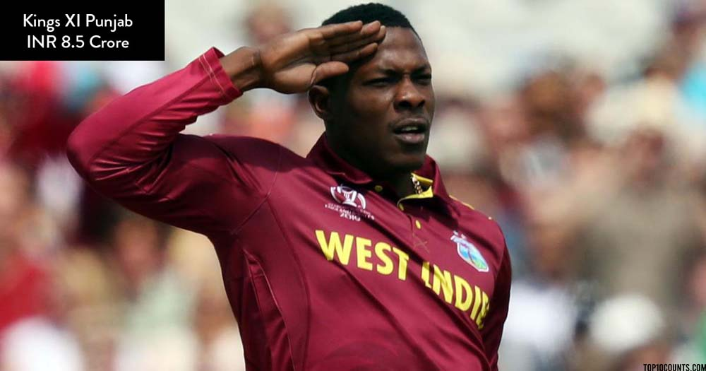 Sheldon Cottrell - Most Expensive IPL Players of 2020