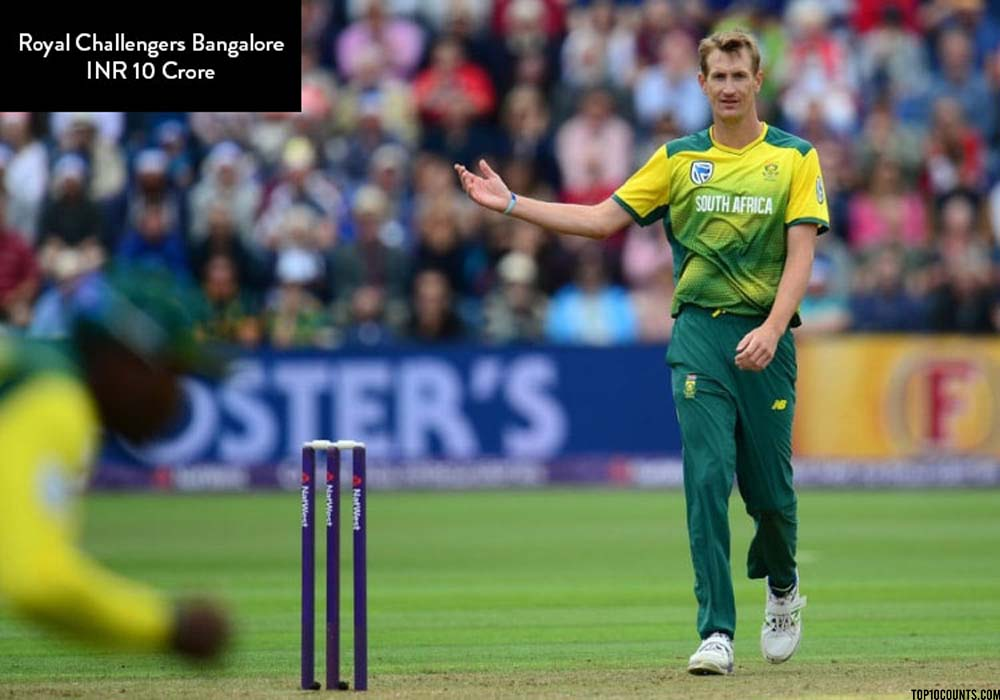 Chris morris - Most Expensive IPL Players of 2020