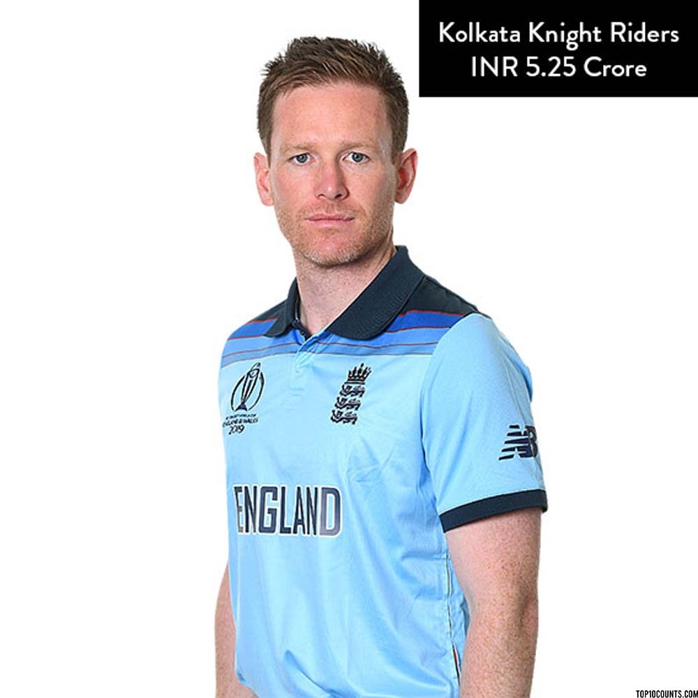 Eoin Morgan - Most Expensive IPL Players of 2020