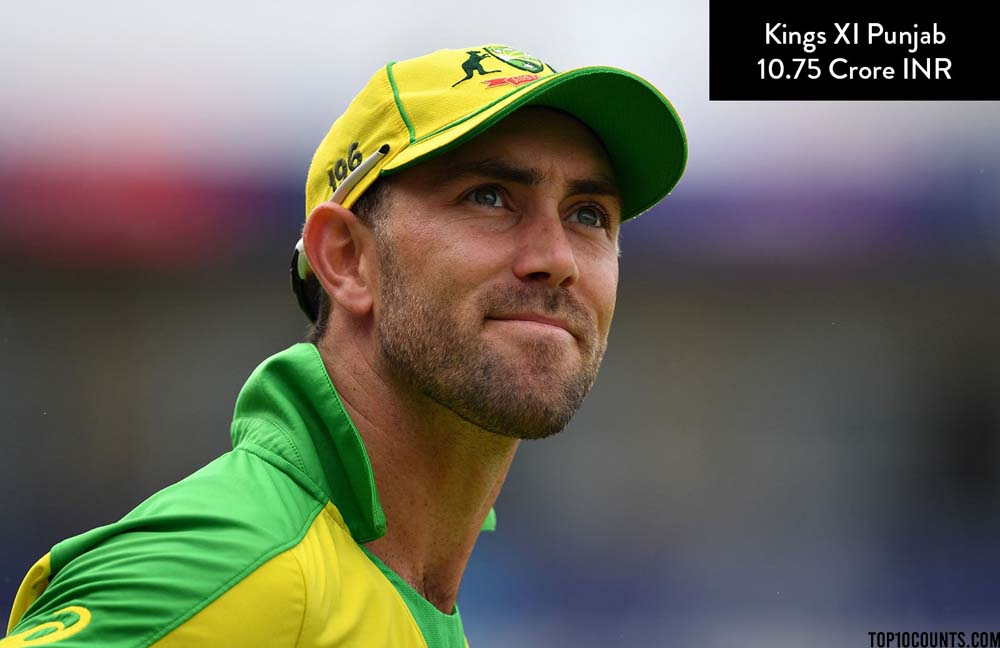 Glenn Maxwell - Most Expensive IPL Players of 2020