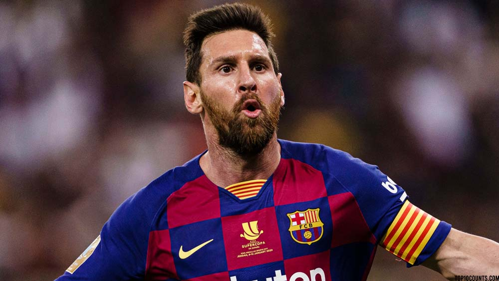 Lionel Messi-Richest Football players In The World - top10counts