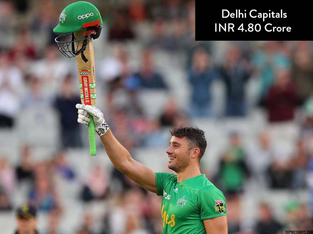 Marcus Stoinis - Most Expensive IPL Players of 2020