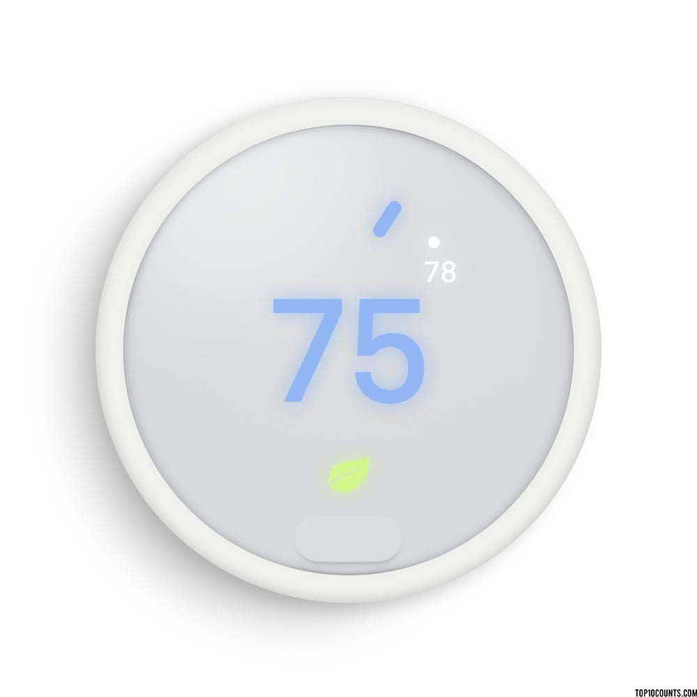 Nest Thermostat E - Best Google Home Accessories - top10counts