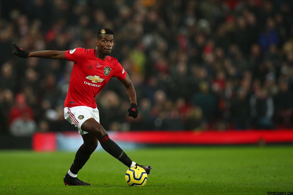 Paul Pogba - Richest Football players In The World - top10counts