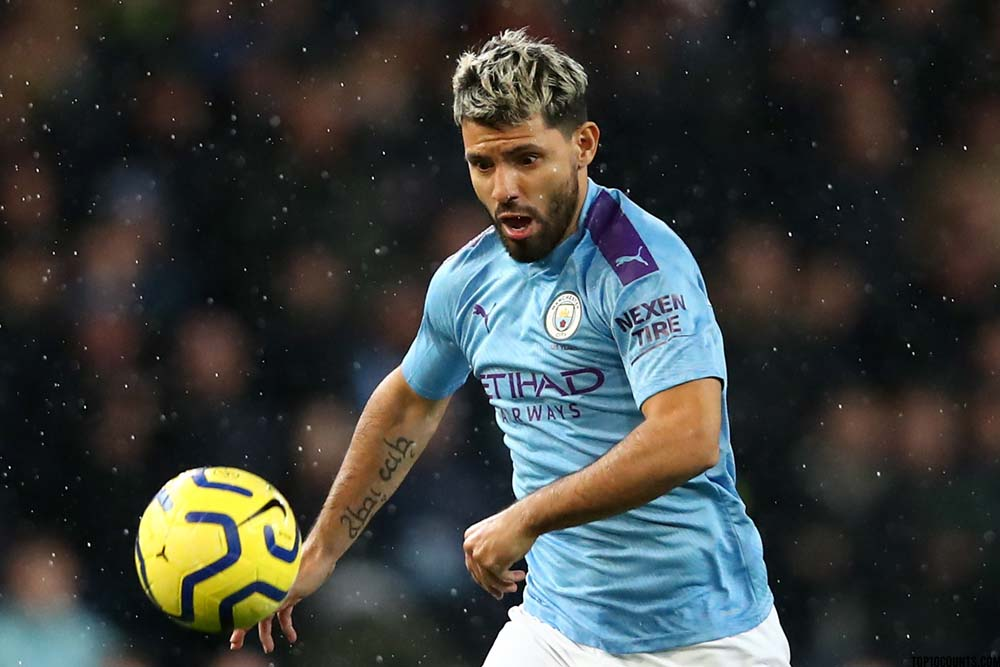 Sergio Agüero - Richest Football players In The World - top10counts