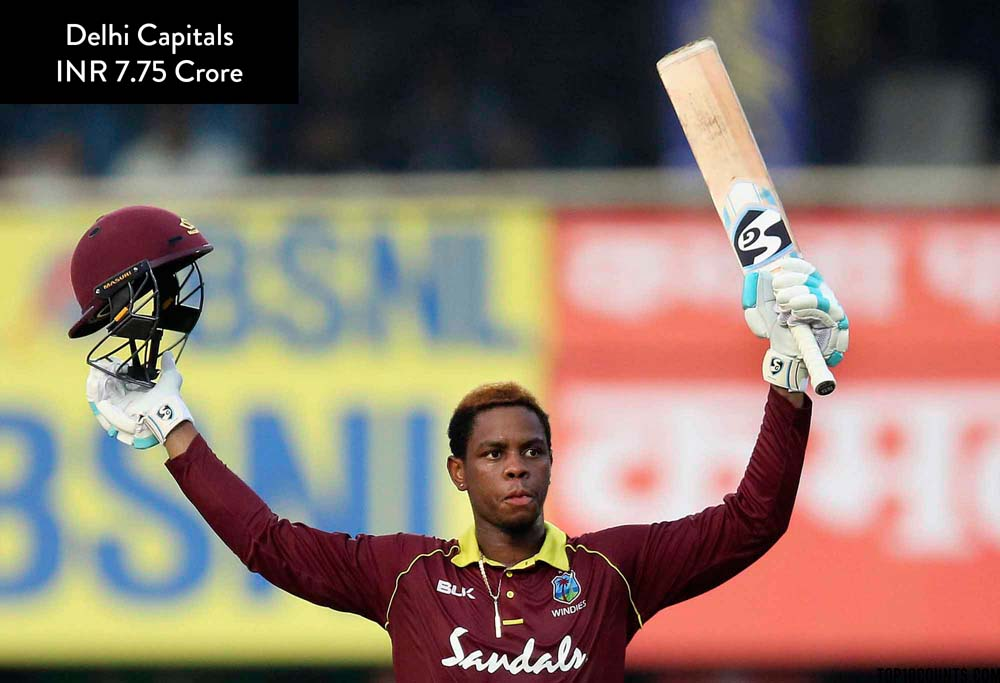 Shimron Hetmyer - Most Expensive IPL Players of 2020