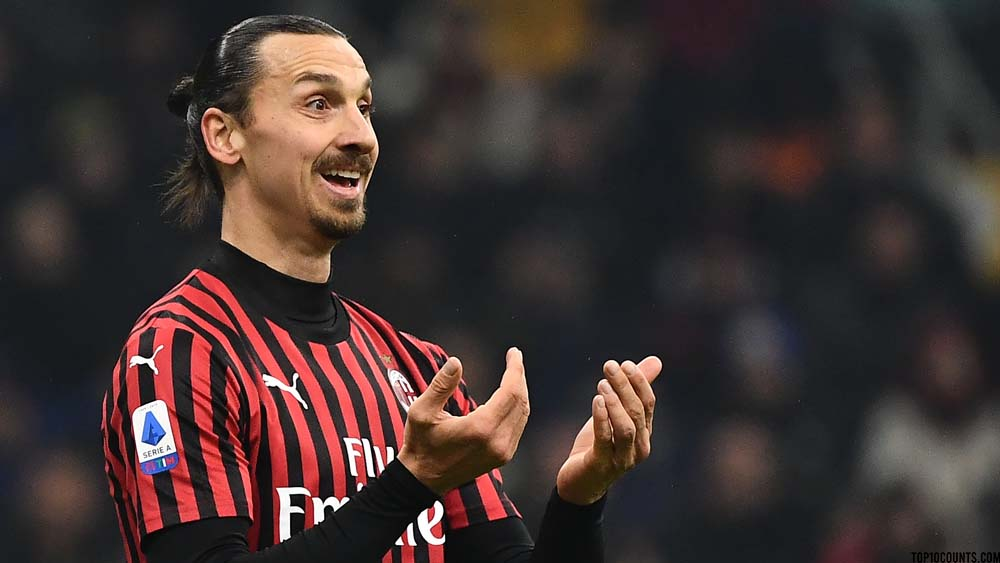 Zlatan Ibrahimović - Richest Football players In The World - top10counts