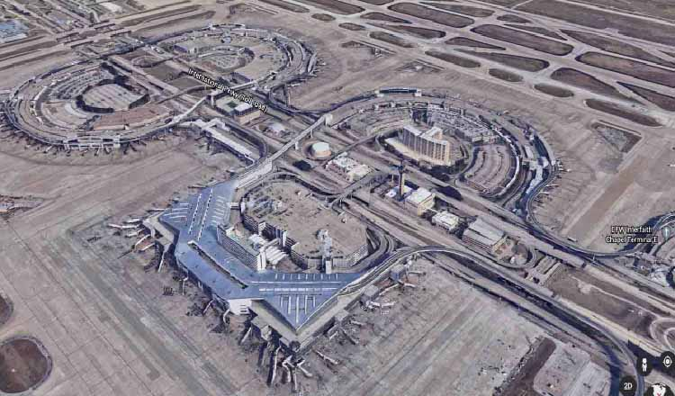 dallas airport -  Top 10 Busiest Airports In The World