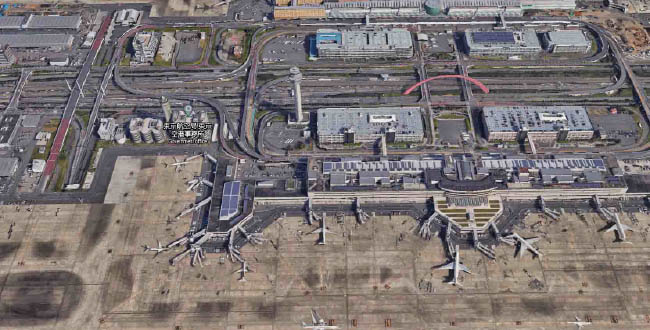 Tokyo Haneda International airport -  Top 10 Busiest Airports In The World