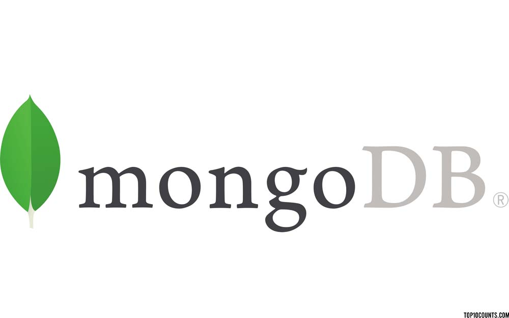 mongodb- Best Databases to Learn 2020 - top10counts