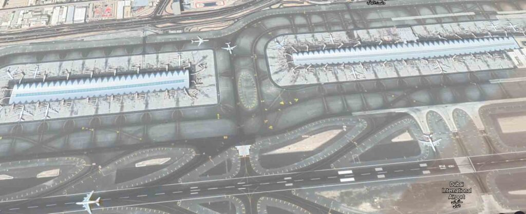 dubai International airport -  Top 10 Busiest Airports In The World