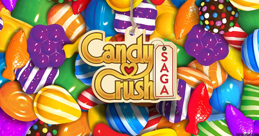 candy crush - Top 10 Grossing Games On Play Store