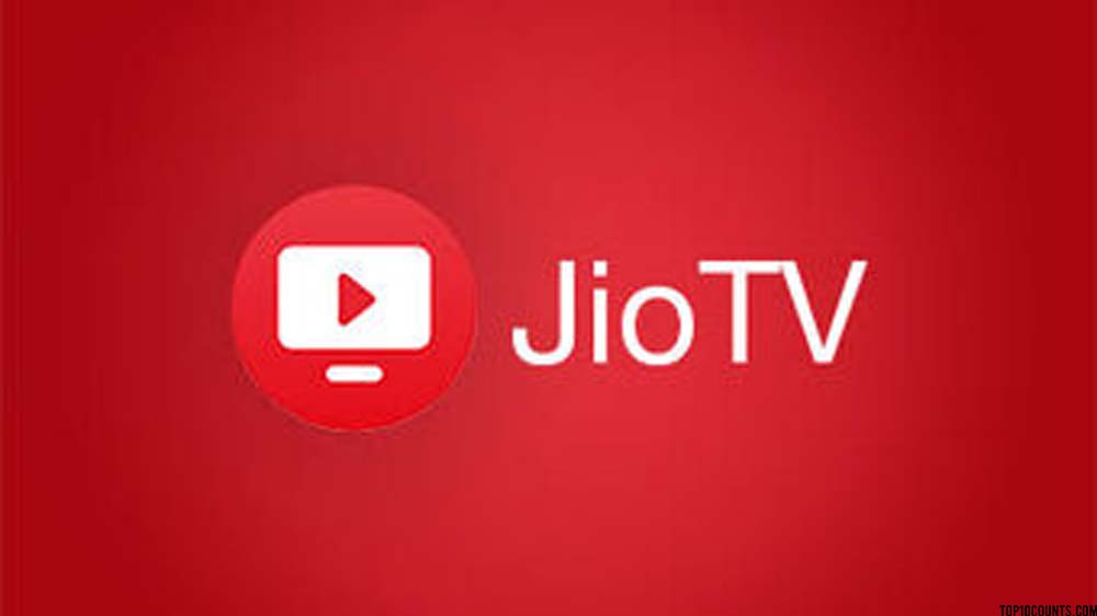 jiotv- Top 10 Grossing Apps On Play Store