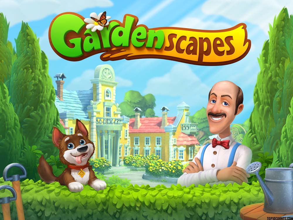 gardenescape - Top 10 Grossing Games On Play Store