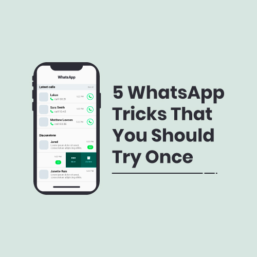 5 WhatsApp Tricks That You Should Try Once