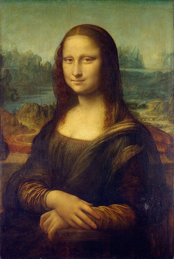 Greatest Painters Of All Time - MonaLisa