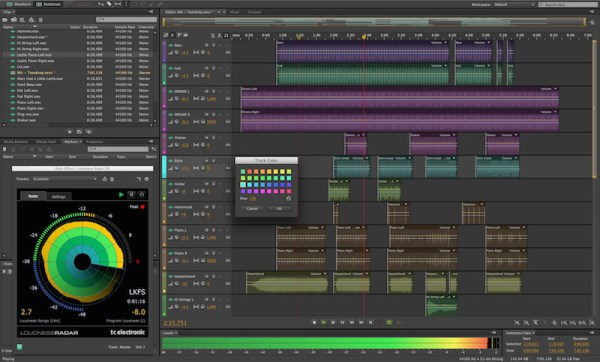 Adobe Audition Keyboard Shortcuts