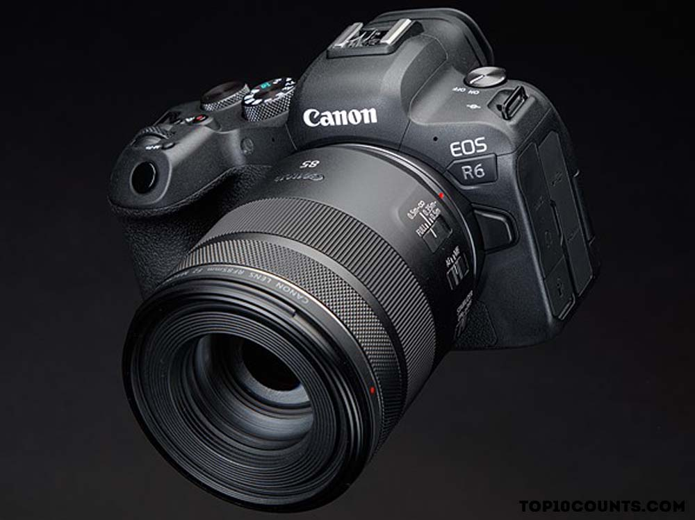 Canon EOS R6 - 7 Best Cameras to Buy In 2021 - top10counts