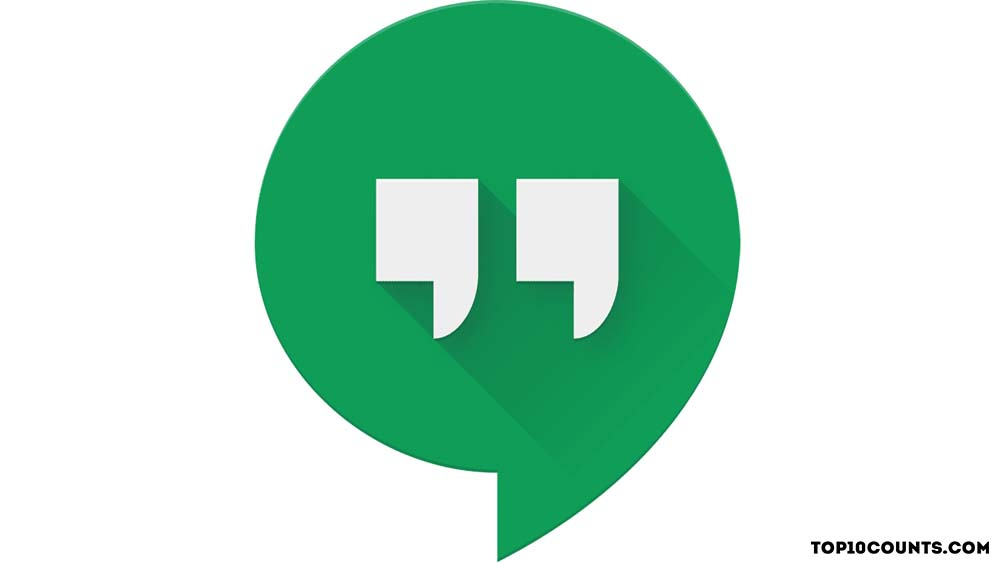 Hangouts - Best Chatting Apps In India