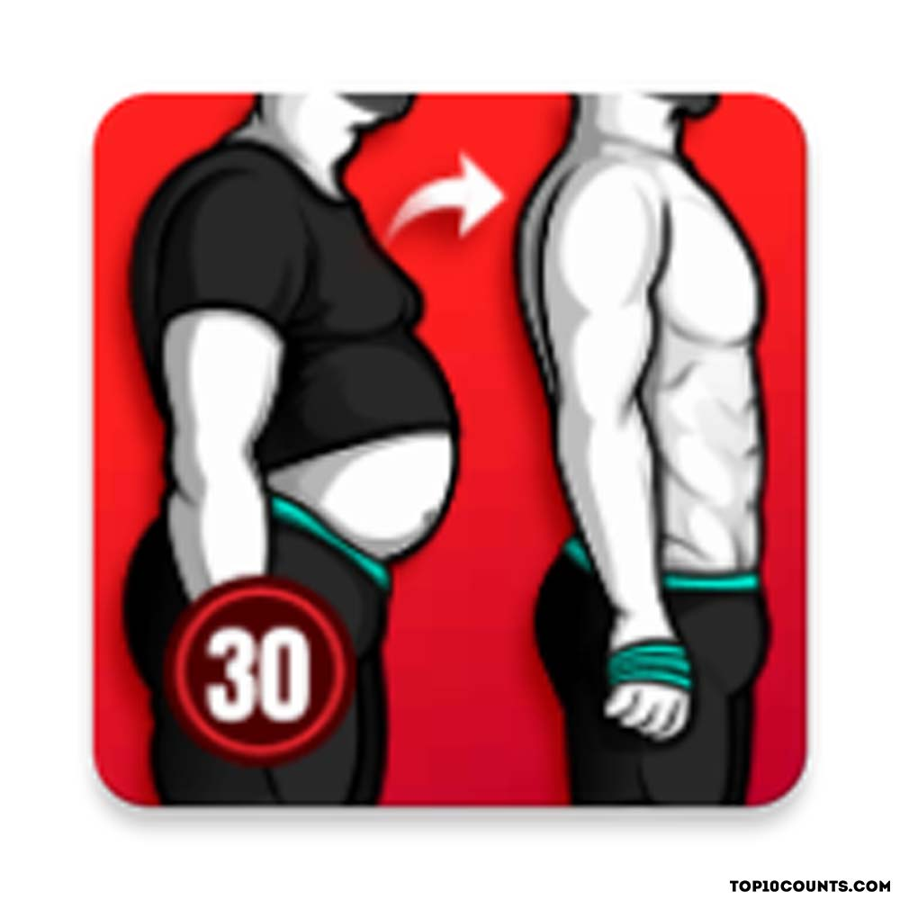 lose weight for men- Best Fitness and Workout Apps - top10counts