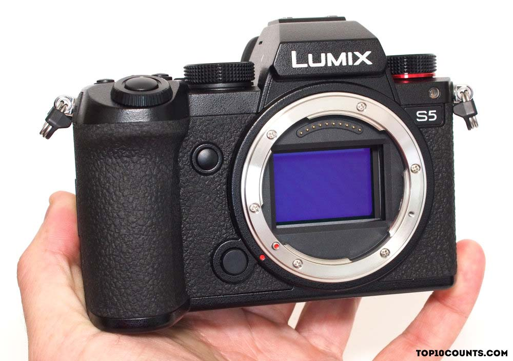Panasonic Lumix S5 - 7 Best Cameras to Buy In 2021 - top10counts