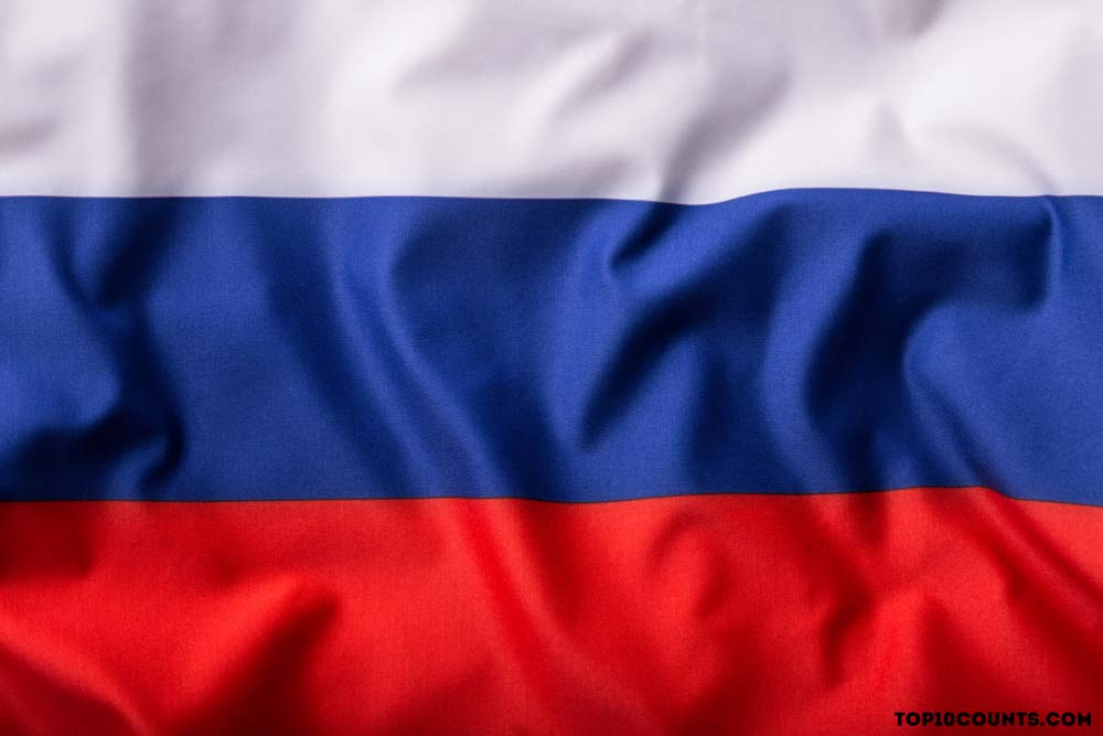 Russia- Countries With The Most Rivers - top10counts