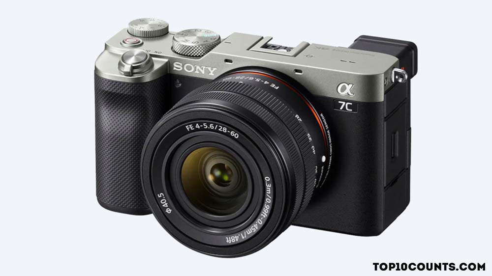 Sony Alpha 7C - 7 Best Cameras to Buy In 2021 - top10counts
