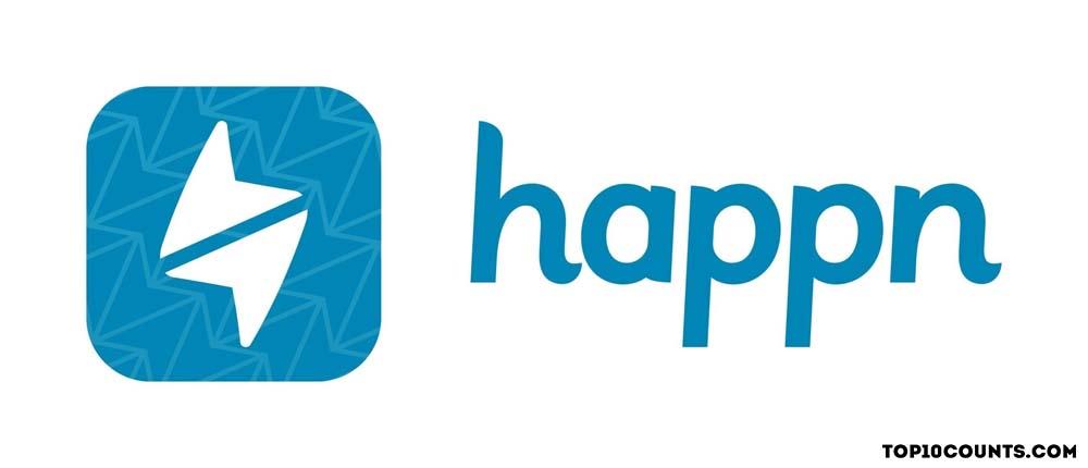 happn - Best Dating Apps In India - top10counts